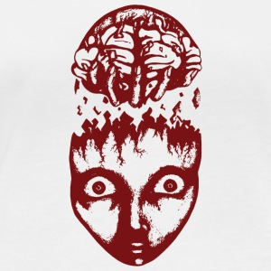 Red brain wrench - Women's Organic Longsleeve