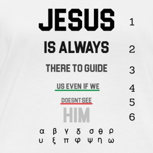 Jesus always - Believe - Women's Organic Longsleeve