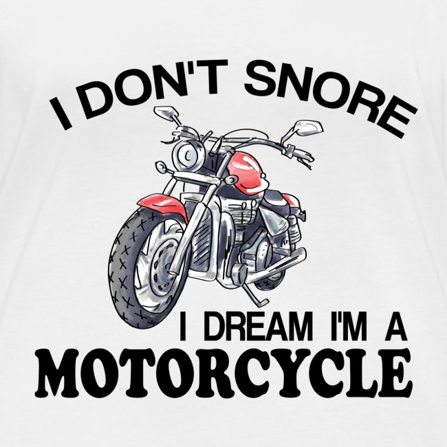 I DON´T SNORE