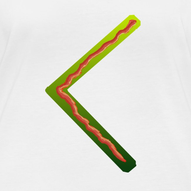 Farbenfrohes Runenmotiv in Trendfarben