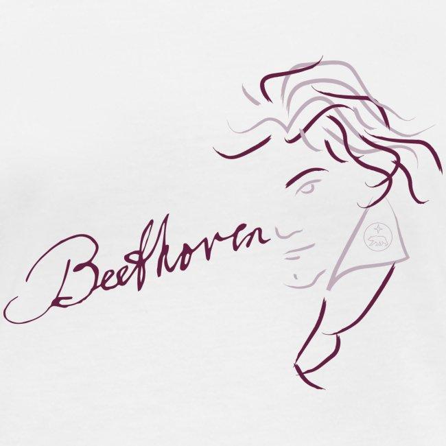 Beethoven (aubergine/rosa)