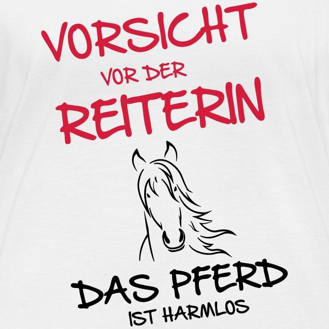 Vorschau: Vorsicht vor der Reiterin - Frauen Bio-Langarmshirt von Stanley & Stella