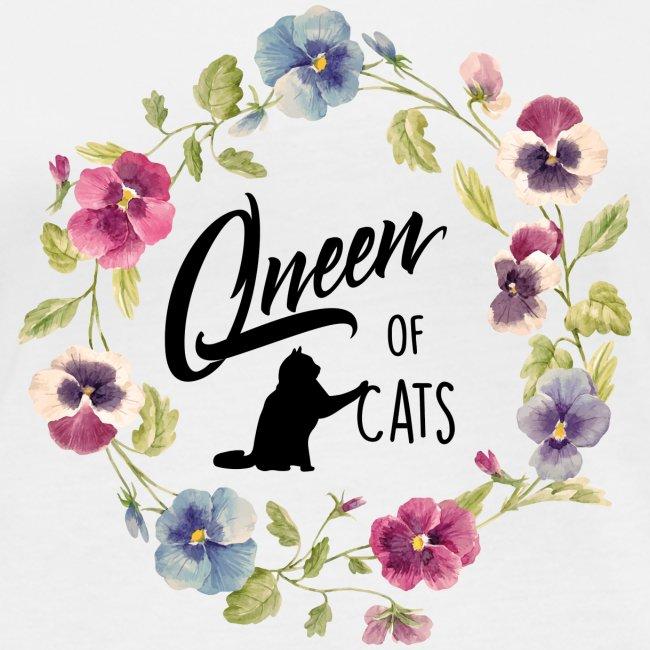 Vorschau: queen of cats - Frauen Bio-Langarmshirt von Stanley & Stella