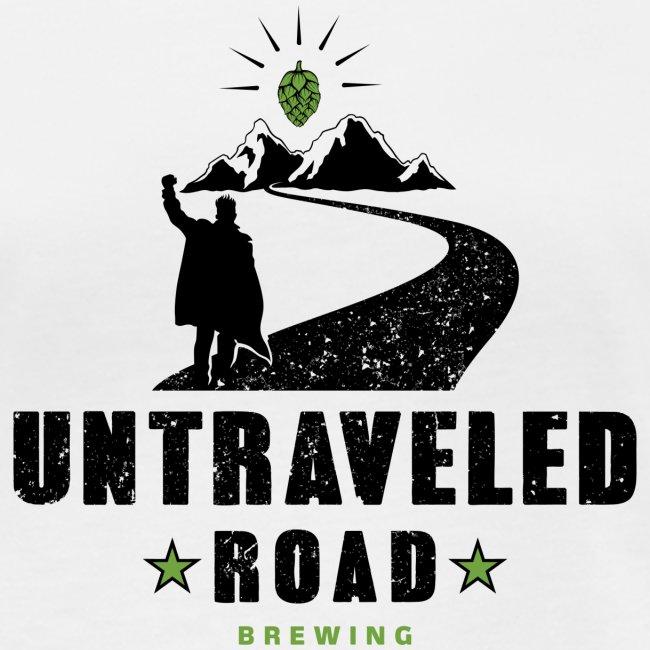 Untraveled Road Logo - black/small