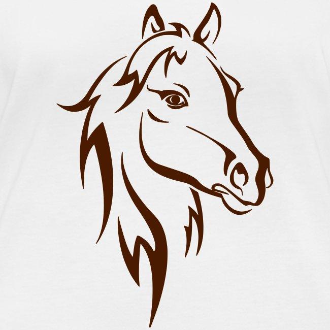 Vorschau: Horse - Frauen Bio-Langarmshirt von Stanley & Stella