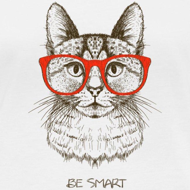 Vorschau: Cat Hipster - Frauen Bio-Langarmshirt von Stanley & Stella
