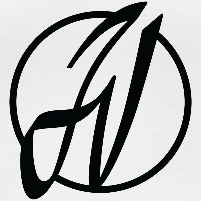 JV Guitars - logo noir