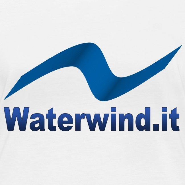logo waterwindpuntoit no sfondo png