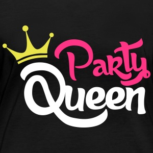 Party queen - Women's Organic Longsleeve
