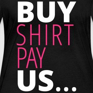 buy shirt pay us - Frauen Bio-Langarmshirt