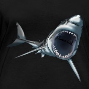 White shark - Women's Organic Longsleeve