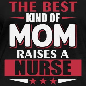 Mom Nurse - Frauen Bio-Langarmshirt