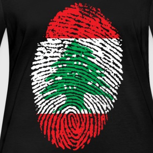 LIBANON 4 EVER COLLECTION - Vrouwen biologisch shirt met lange mouwen