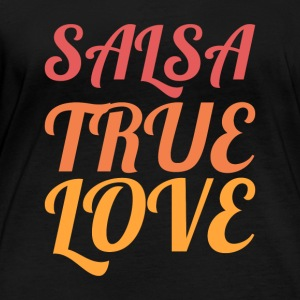 Salsa True Love - DanceShirts - Women's Organic Longsleeve