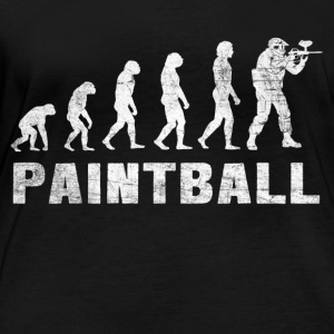 Evolution Paintball Shirt - Paintball T-Shirt - Frauen Bio-Langarmshirt
