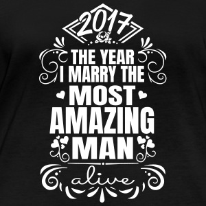 Wedding / Engagement 2017 Best Man - Ekologisk långärmad T-shirt dam