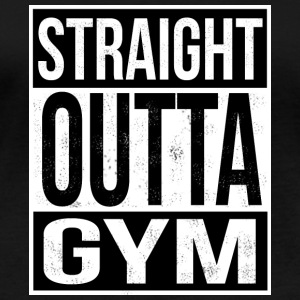Straight Outta Gym - T-shirt manches longues bio Femme