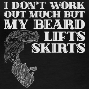 My Beard lifts skirts - bart - Frauen Bio-Langarmshirt