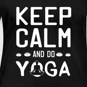 Keep Calm And Do Yoga - Women's Organic Longsleeve