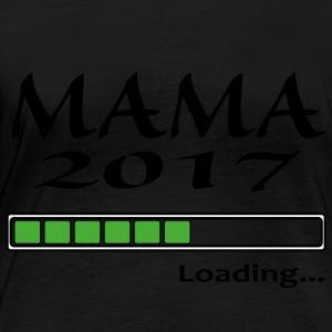 Mama 2017 Loading - T-shirt manches longues bio Femme