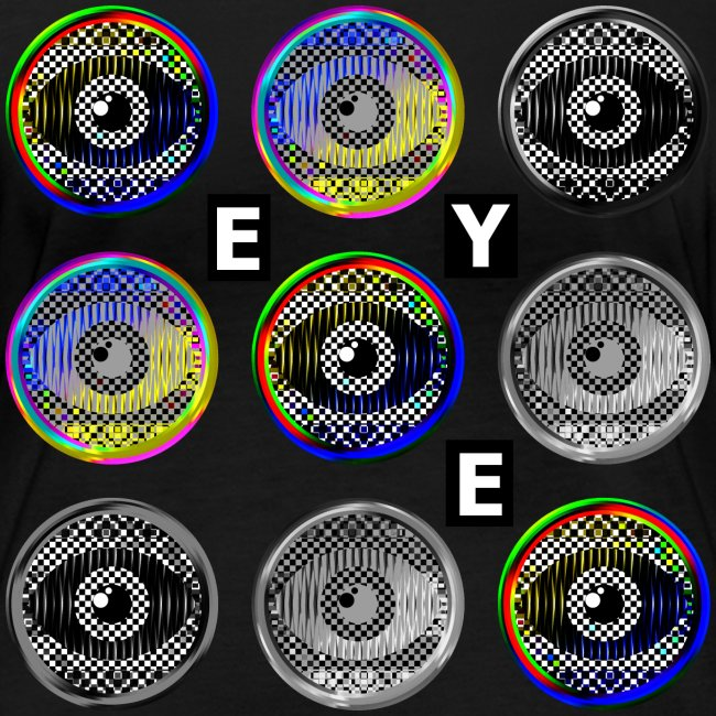 pop art eyes