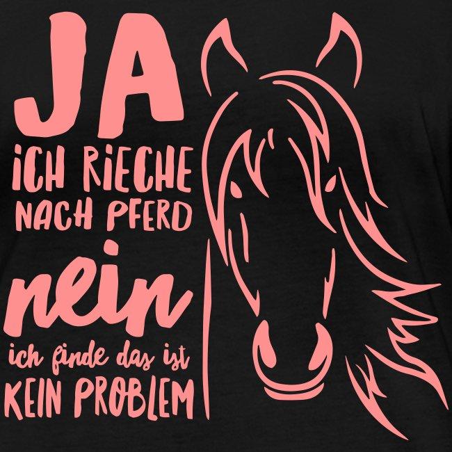 Vorschau: ja ich rieche nach Pferd - Frauen Bio-Langarmshirt von Stanley & Stella