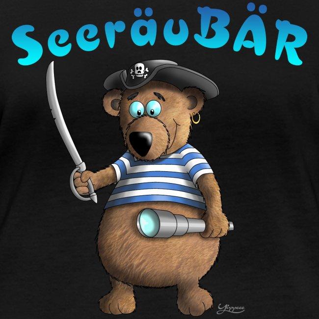 Lustiger Seeräuber Bär