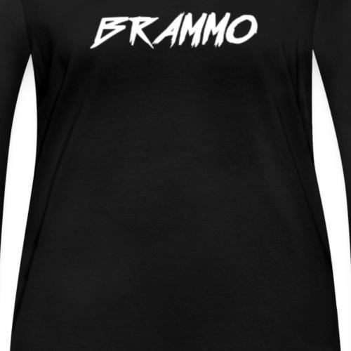 Brammo Cartoon zwart - Vrouwen bio shirt met lange mouwen van Stanley & Stella