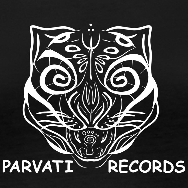 The Parvati Cat by Stringhedelic - White