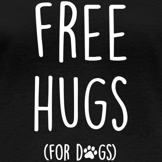 Vorschau: free hugs for dogs - Frauen Bio-Langarmshirt von Stanley & Stella