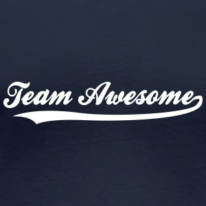 Team Awesome! - Langarmet øko-T-skjorte for kvinner