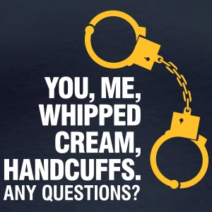 Lets Enjoy! You, Me, Whipped Cream And Handcuffs! - Women's Organic Longsleeve