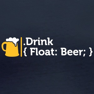 CSS Jokes - Drink Beer! - T-shirt manches longues bio Femme