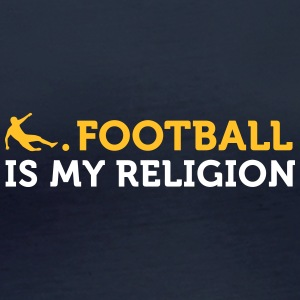 Football Quotes: Soccer Is My Religion - Women's Organic Longsleeve