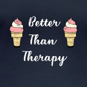 Ice - Better Than Therapy - Ice Cream - Women's Organic Longsleeve