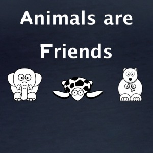 Animals are friends - Women's Organic Longsleeve