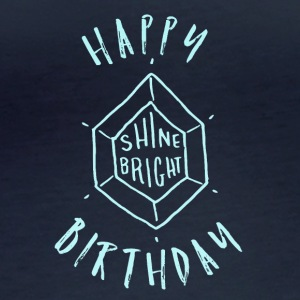 Happy Birthday T-Shirt & Hoody - Frauen Bio-Langarmshirt