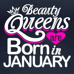 Queen Birth January Gift - Women's Organic Longsleeve