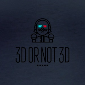 3D or Not 3D - Women's Organic Longsleeve