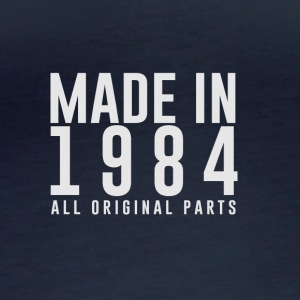 MADE IN 1984 - ALL ORIGINAL PARTS - Women's Organic Longsleeve
