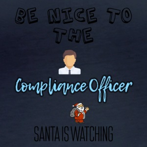 Be nice to the compliance officer - Women's Organic Longsleeve