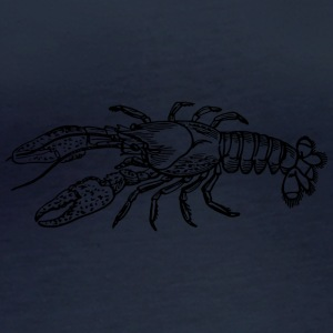 lobster1 - T-shirt manches longues bio Femme