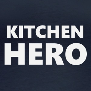 2206 Kitchen Hero - Frauen Bio-Langarmshirt