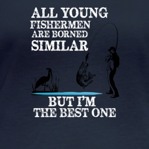 All young fisherman are borned similar - Women's Organic Longsleeve