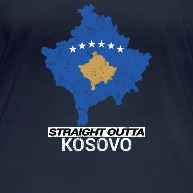 Straight Outta Kosovo country map