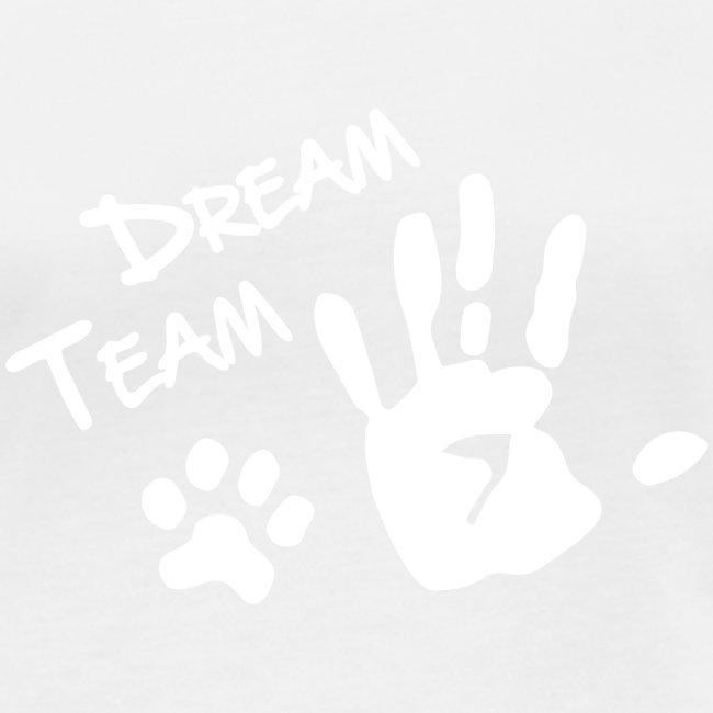 Vorschau: Dream Team Hand Hundpfote - Frauen Bio-Langarmshirt von Stanley & Stella