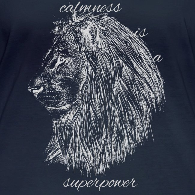 Calmness is a superpower