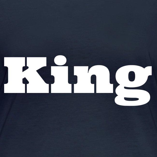 Snapback king zwart/grijs