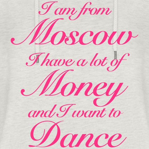 I am from Moscow - Women's Cropped Hoodie