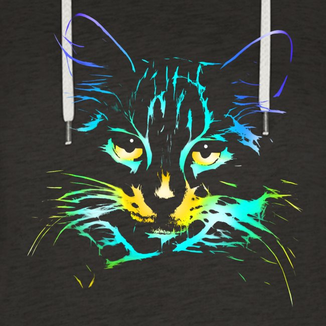 color kitty - Frauen Cropped Hoodie